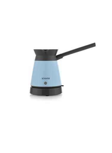 Schafer Kaffeefan Elektrikli Cezve - Turkuaz Turkuaz
